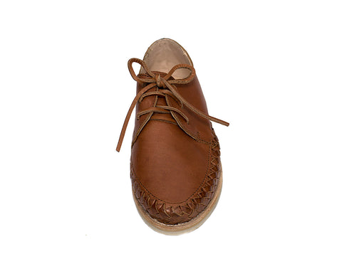 Brown Casual Leather Shoes for Men and Women - Sayulita