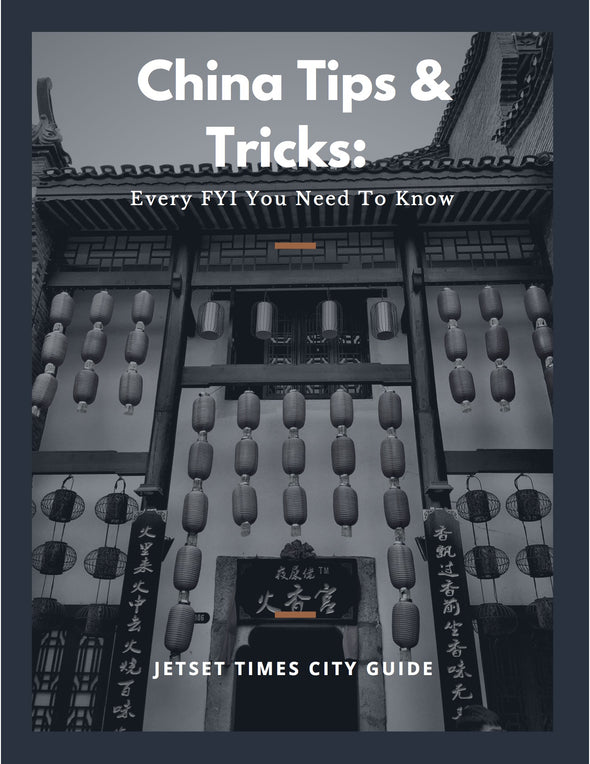Exclusive Shanghai Tips & Tricks City Guide eBook for Offline PDF Download Use by Jetset Times SHOP