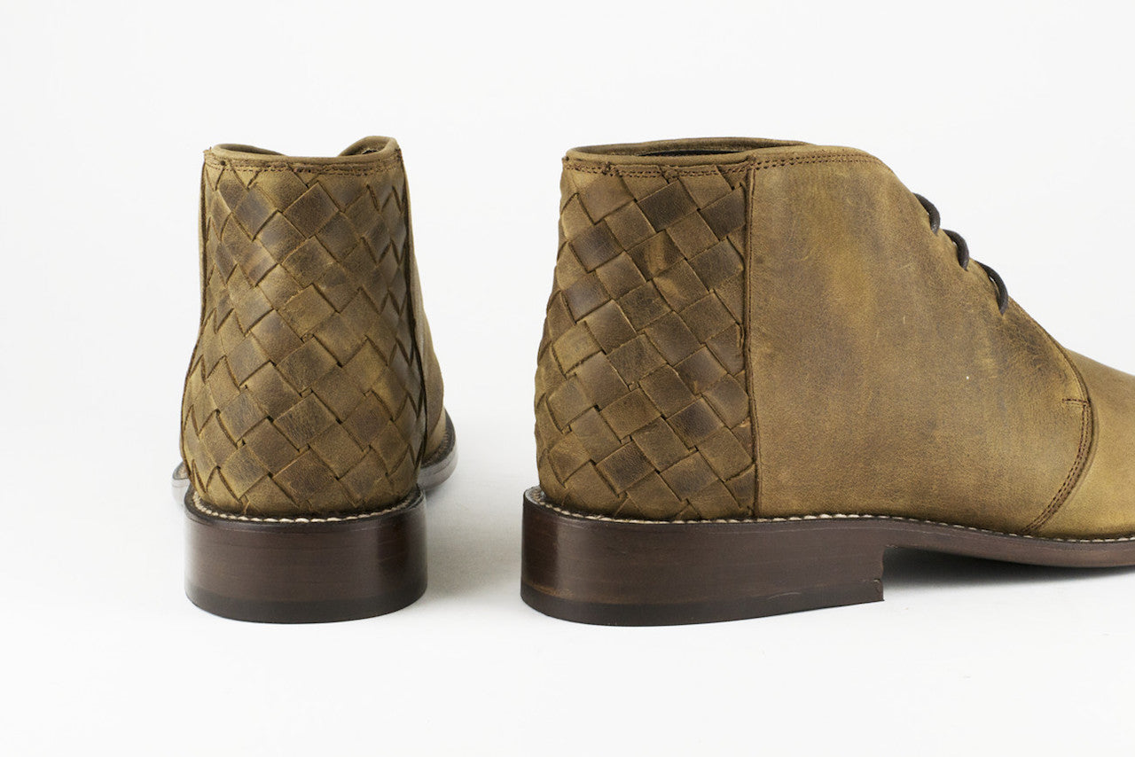 Men's Brown Leather Ankle Boots - TAPALPA by TapatÌ_a on Jetset Times SHOP