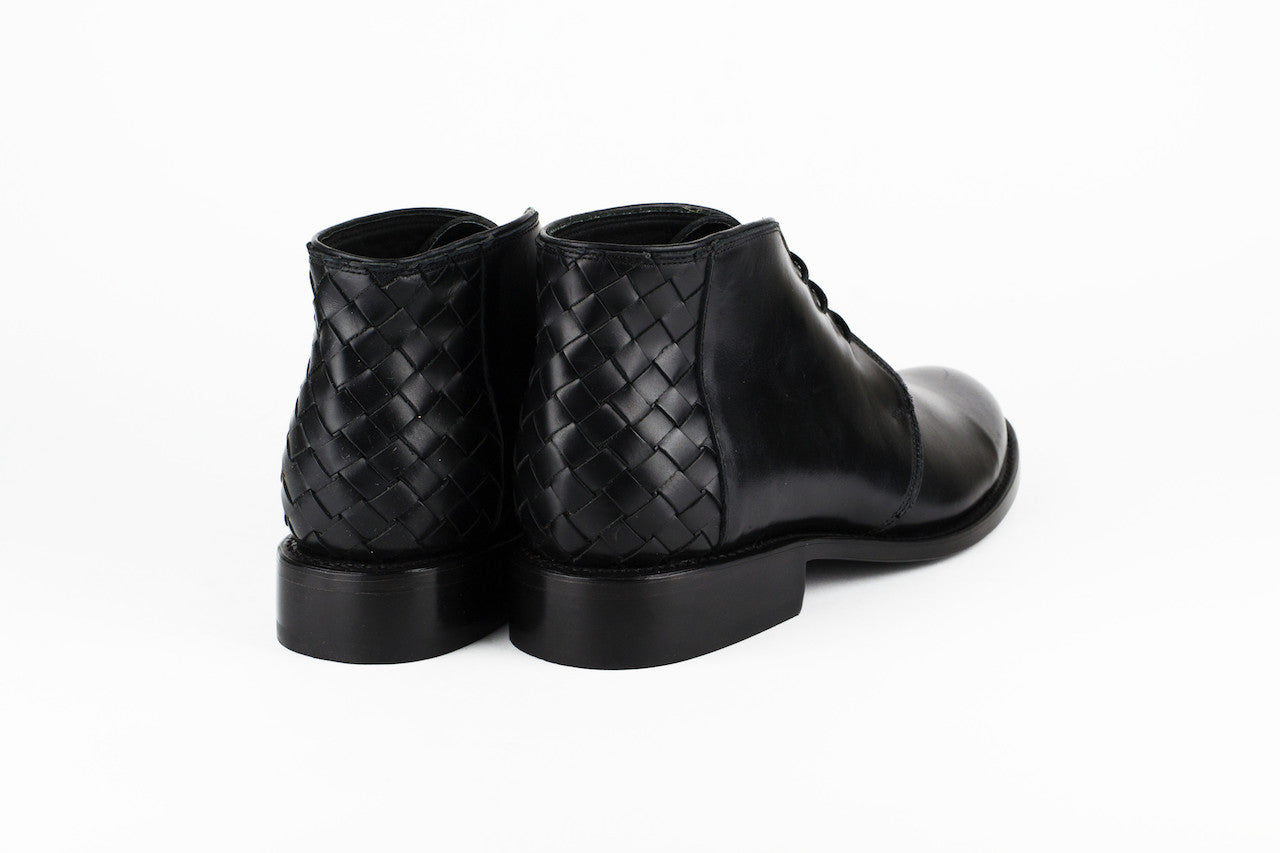 Men's Black Leather Ankle Boots - TAPALPA by Tapatía on Jetset Times SHOP