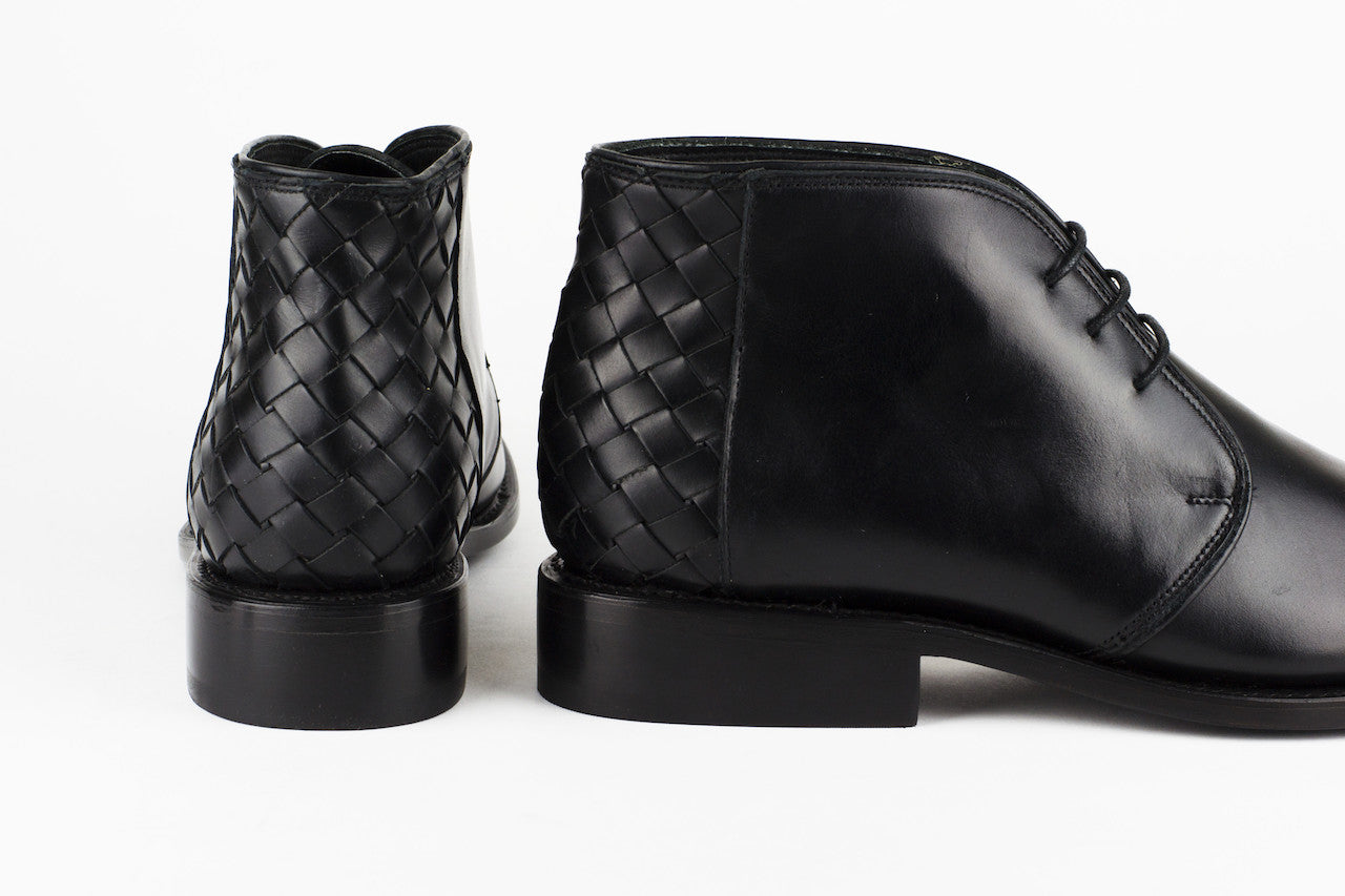 Men's Black Leather Ankle Boots - TAPALPA by TapatÌ_a on Jetset Times SHOP