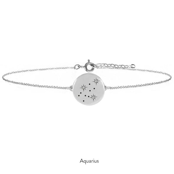Silver Constellation Bracelet - With Diamonds