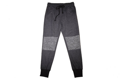 Moto Jogger Pants for Men and Women - Black Charcoal