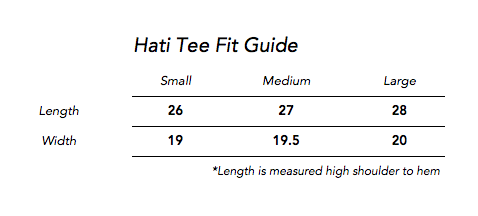 Hati T-Shirt in White for Men and Women by One For The Road on Jetset Times SHOP