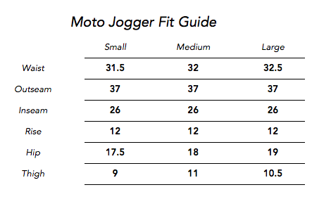 Moto Jogger Pants for Men and Women - Ash