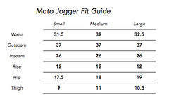 Moto Jogger Pants in Ash for Men and Women by One For The Road on Jetset Times SHOP