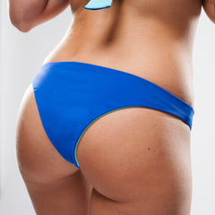 Women's Reversible Swimsuit Bottoms - Gosia Cheeky in Royal/Aqua by Lagoa Swimwear on Jetset Times SHOP