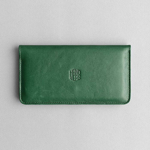 Leather iPhone/iPhone Plus Wallet - Ranch in Green