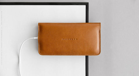 Leather iPhone/iPhone Plus/iPhone X Bifold Wallet - Ranch in Brown
