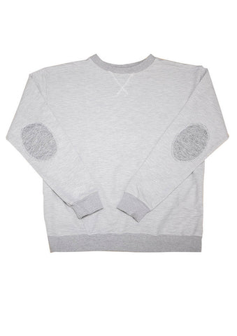 Ash Gray Pullover Sweater for Men and Women - Moto