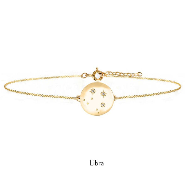 Gold Constellation Bracelet - with Diamonds