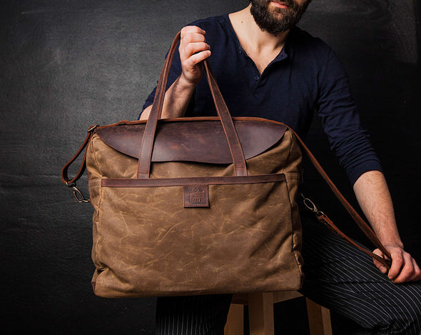 Men's Shoulder Bag Sandstone