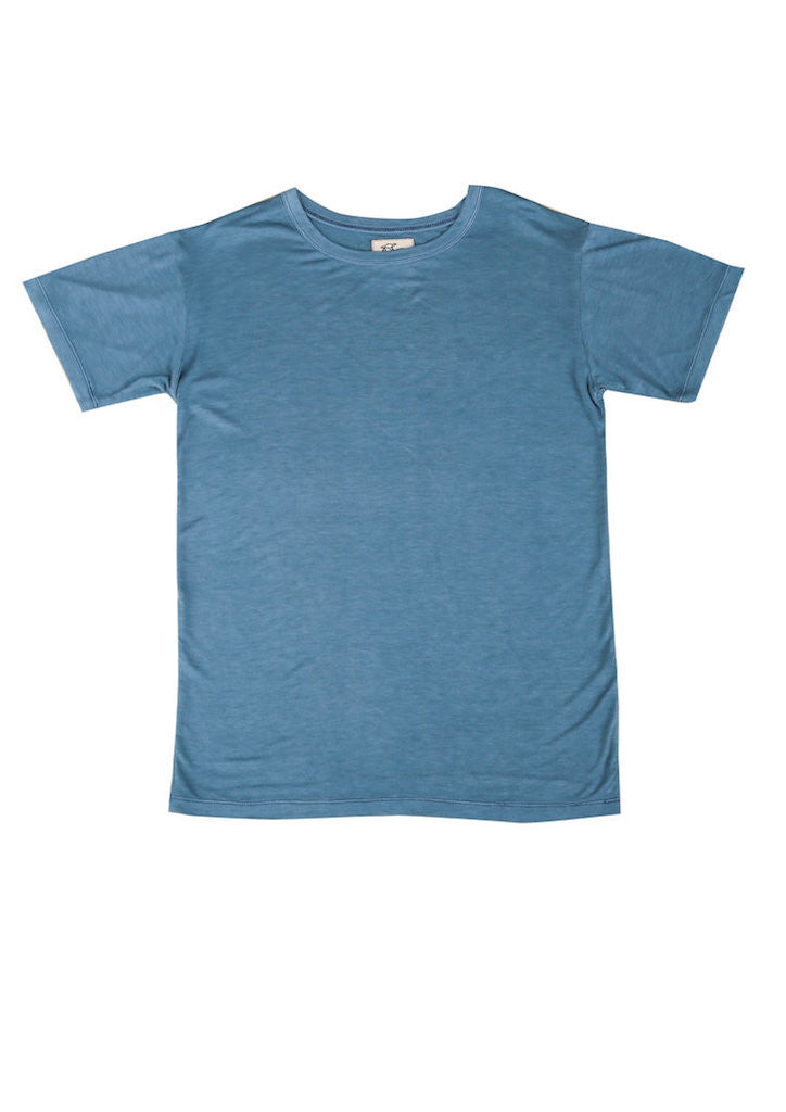 Tidal T-Shirt in Tide Blue for Men and Women by One For The Road on Jetset Times SHOP