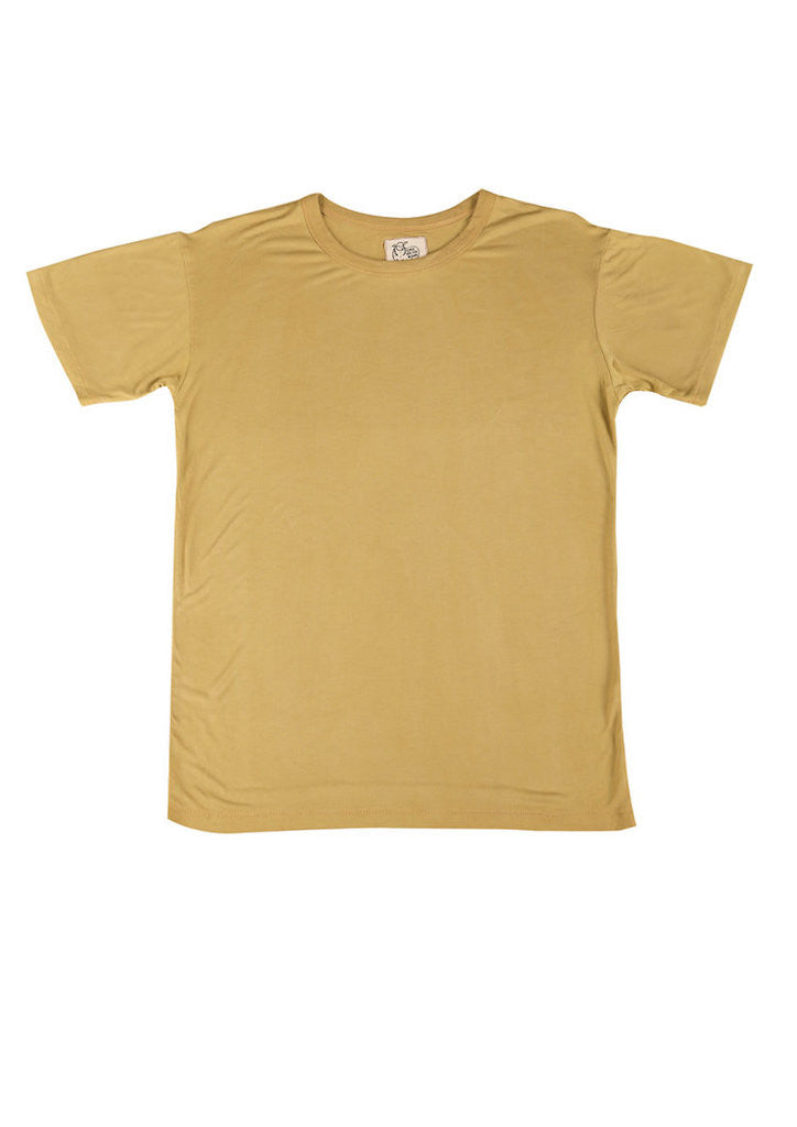 Tidal T-Shirt in Sun Yellow for Men and Women by One For The Road on Jetset Times SHOP