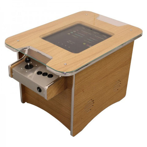 Retro Arcade - Oak Coffee Table - GameCAB | Flight and Driving Simulation Gaming