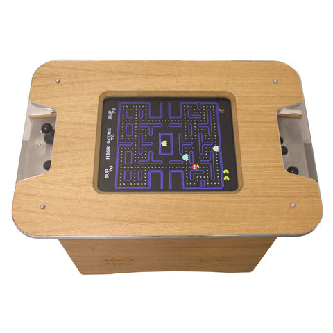Retro Arcade - Oak Finish - GameCAB | Flight and Driving Simulation Gaming