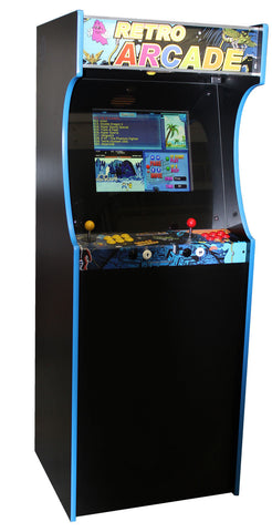 Retro Arcade 600 Upright - GameCAB | Flight and Driving Simulation Gaming