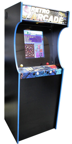 Retro Arcade 400 Upright - GameCAB | Flight and Driving Simulation Gaming