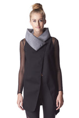 MICHI REVOLVER REVERSIBLE WRAP VEST