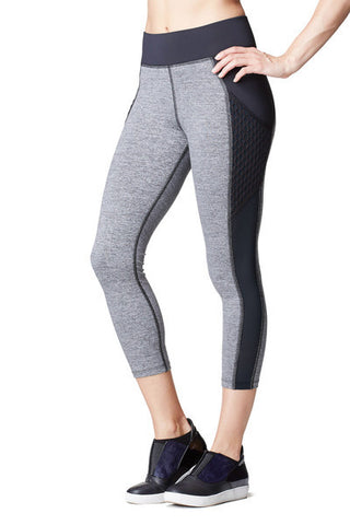 MICHI STARDUST CROP WITH POCKETS LEGGING