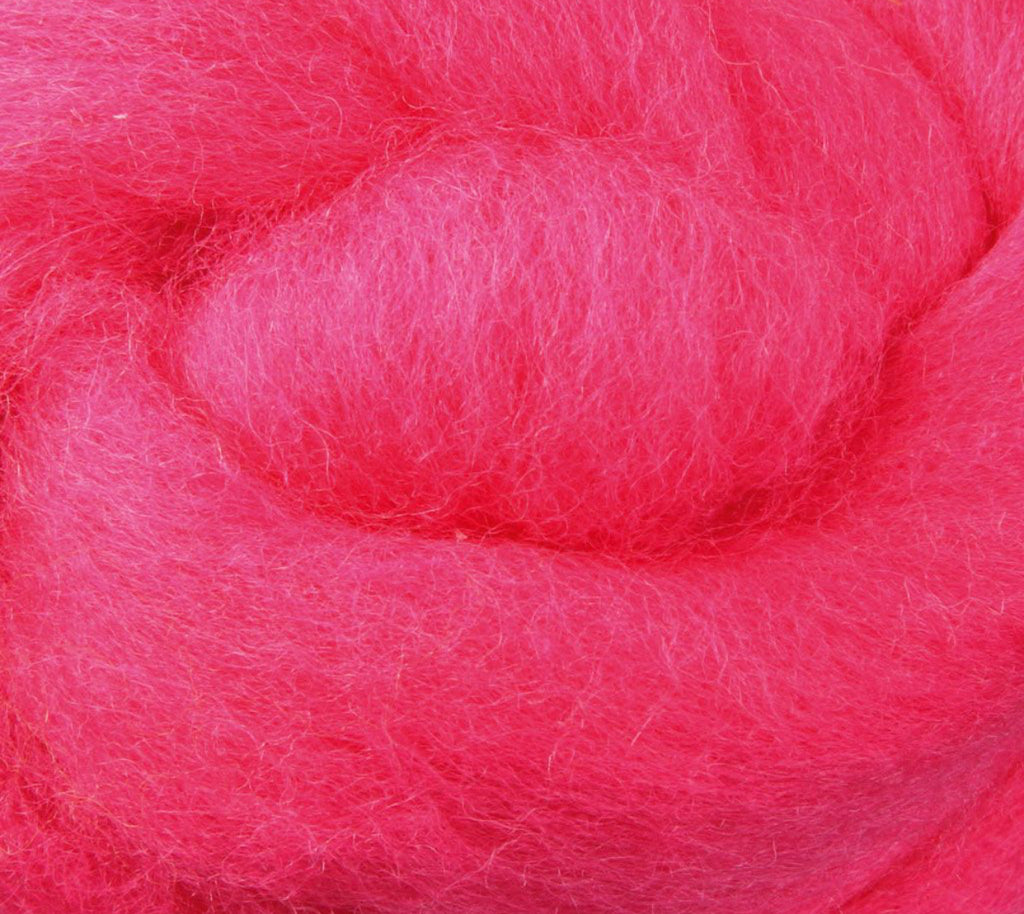 Pansy NZ Corriedale Wool Roving