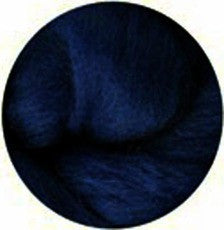 Indigo NZ Corriedale Wool Roving - Happy Hedgehog Post