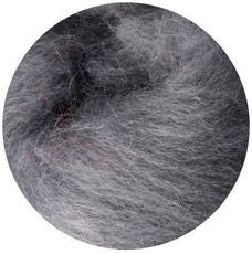 Smoke Grey NZ Corriedale Wool Roving - Happy Hedgehog Post