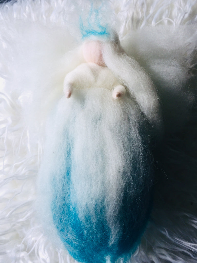 Blue ice wool fairy happy Hedgehog post