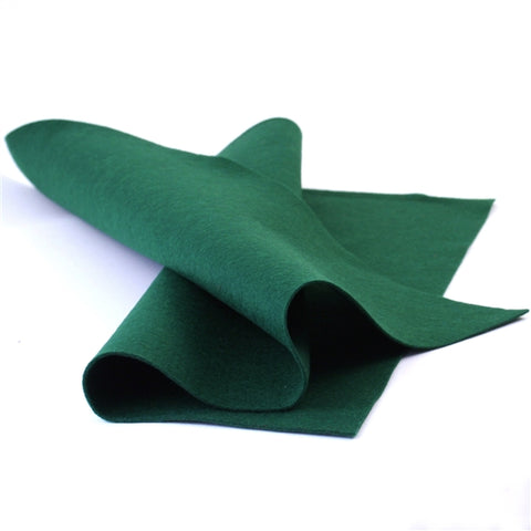 Hunter Green Merino Wool Felt Sheet
