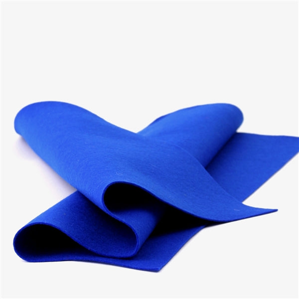 Royal Blue Merino Wool Felt Sheet
