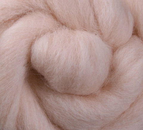 Blush NZ Corriedale Wool Roving