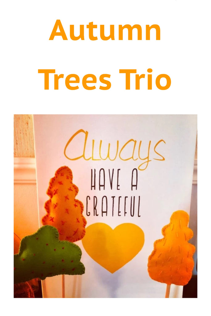 Autumn Trees Trio Kit