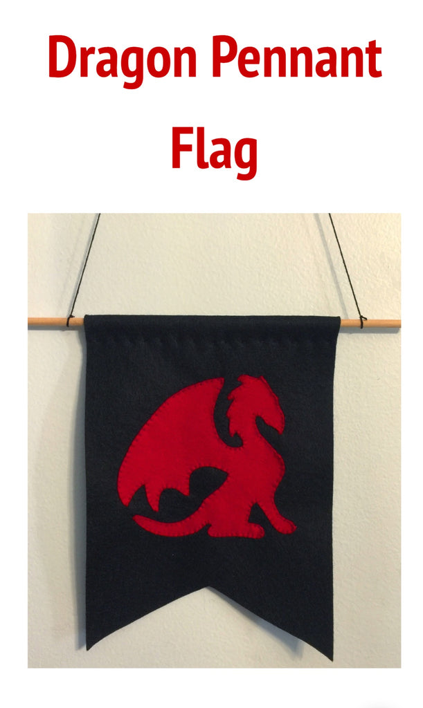 Dragon Pennant Flag