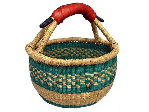 Mini Bolga Basket - Happy Hedgehog Post