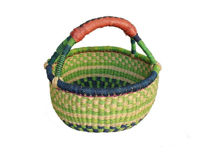Large Mini Bolga Basket - Happy Hedgehog Post