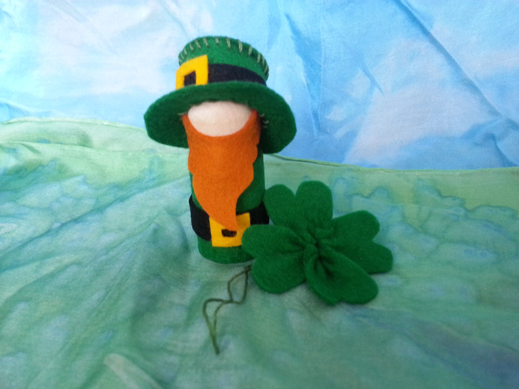 Leprechaun Peg Doll PDF Pattern