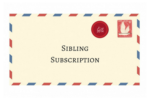 3 Month Sibling Subscription
