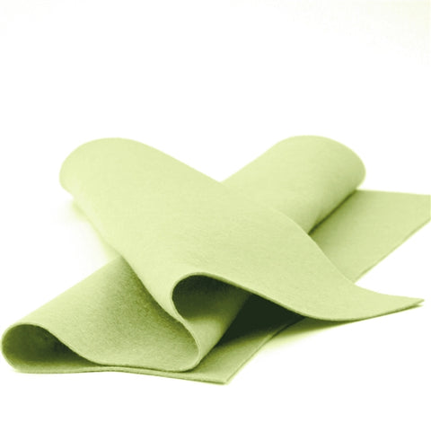 Avocado Merino Wool Felt Sheet