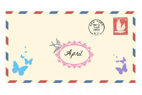 April Craft Subscription box - Happy Hedgehog Post - 1