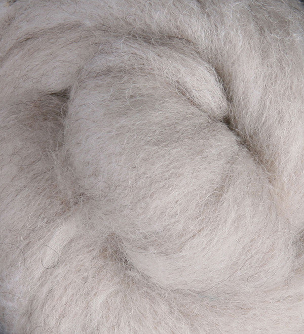 Natural Light NZ Corriedale Wool Roving