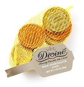 Milk Chocolate Coins