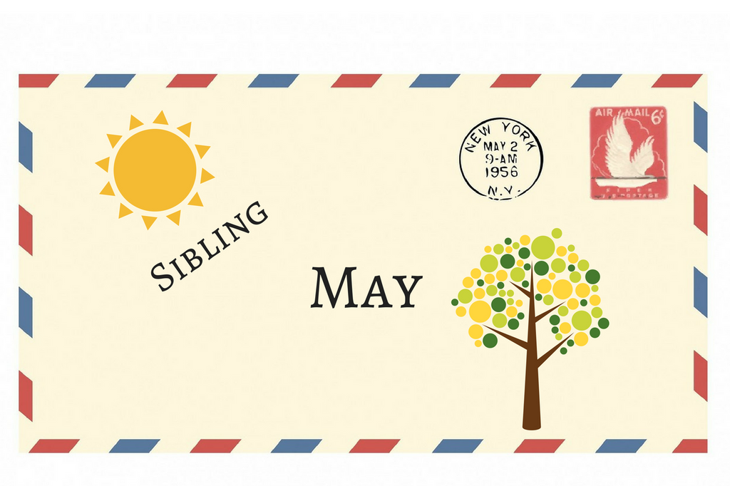 May Envelope + Sibling