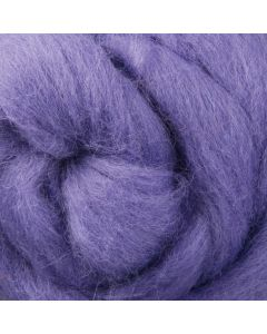 Lilac NZ Corriedale Wool Roving