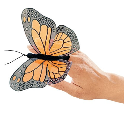 Folkmanis Monarch Finger Puppet