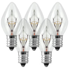 "Accessories - Replacement Bulbs 25-Pack (Clear) For 12"" Signs"