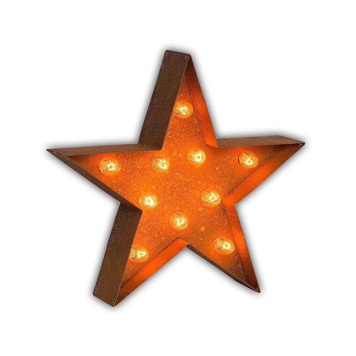 12 Small Star Vintage Marquee Sign With Lights Buy Marquee Lights