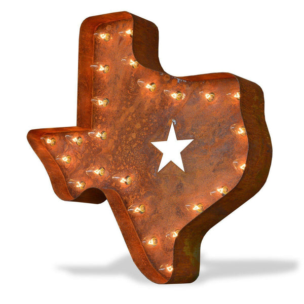 24 Texas Vintage Marquee Lights Sign Rustic Buy