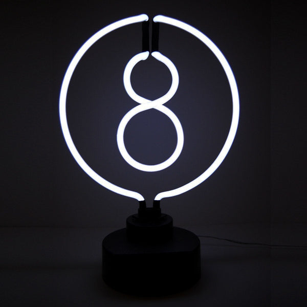 Neon Sculptures - 8 Ball Neon Sculpture