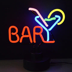 Neon Sculptures - Bar Martini Neon Sculpture