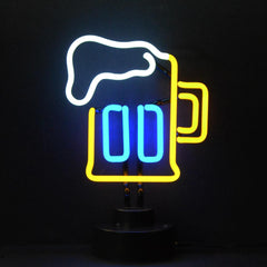 Neon Sculptures - Beer Mug Neon Sculpture